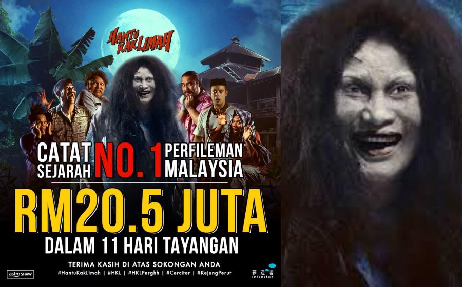 Gempak! 'Hantu Kak Limah' pecah panggung catat kutipan RM20.5 juta