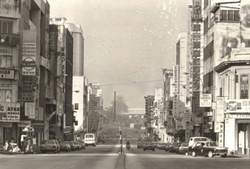 Mid-90's Kuala Lumpur served as the backdrop of Karim's meeting with Naipaul, at a time when the former had started his 'Ceritalah' columns, interviewing ordinary, working-class people. Photo courtesy of The Star
