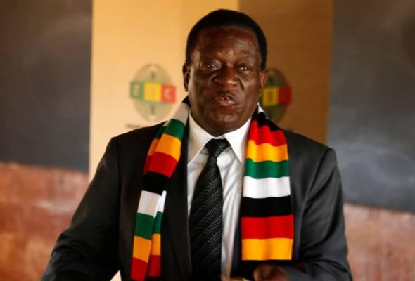 Mnangagwa diisytihar menang pilihan raya Zimbabwe