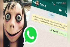 Awas! Momo Challenge dikatakan galak kanak-kanak bunuh diri
