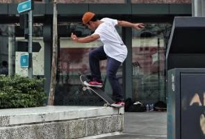 Wajarkah ada 'skate park' di tengah bandar?