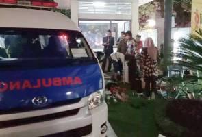 Warga Bali panik ketika gempa melanda