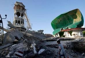 Gempa Lombok: Ramai mangsa runtuhan masjid masih terperangkap