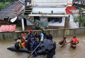 Banjir Kerala ragut 67 nyawa