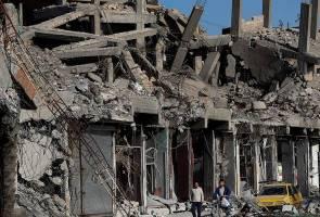 77 terbunuh hasil lima serangan udara AS di Syria 2017