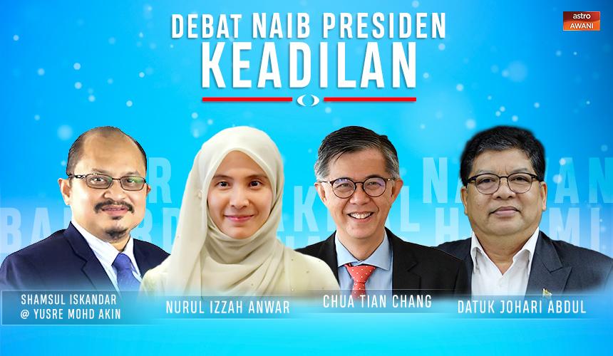 [LAPOR LANGSUNG] Debat Naib Presiden PKR
