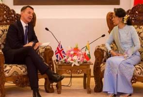 Rohingya: Setiausaha Luar British lawat Myanmar
