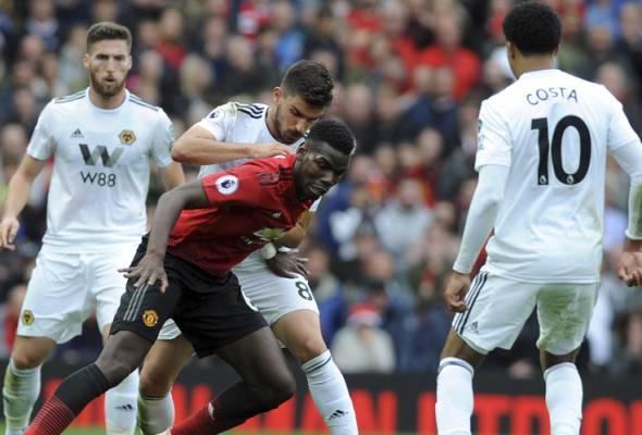Mourinho berang aksi longlai jentera serangan United