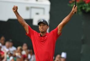 Golf: Tiger Woods tamatkan kemarau kejuaraan Jelajah PGA