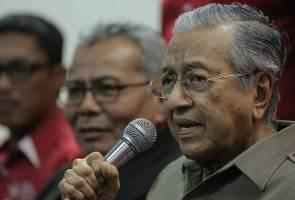 Terima individu, tak terima UMNO - Tun M