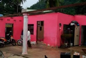 56 rumah terjejas akibat ribut di Perlis