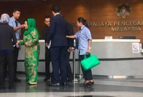 Rosmah tiba di SPRM