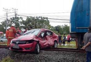 Penghadang jalan tidak ditutup punca mangsa dirempuh kereta api