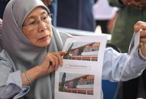 Kerajaan pusat lulus RM507,000 baiki sekolah rosak akibat ribut - Wan Azizah