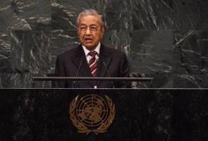 Wawasan Kemakmuran Bersama antara agenda utama Dr Mahathir di pentas PBB