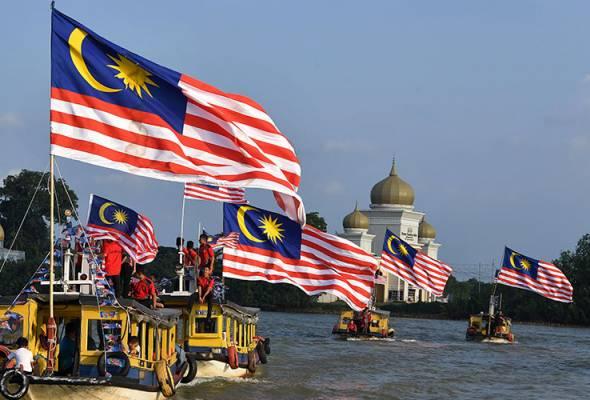 Semangat cintakan negara bukan sekadar kibar Jalur Gemilang