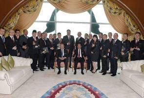 23 setiausaha politik menteri kabinet angkat sumpah