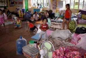 Bayi lapan bulan mangsa pertama Taufan Mangkhut