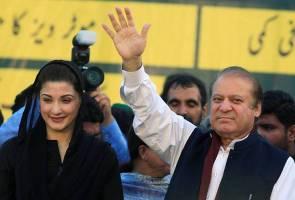 Isteri dikebumi, Nawaz Sharif dan anak dibenar keluar penjara sementara