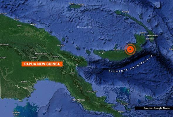 Gempa 7.0 magnitud landa Papua New Guinea