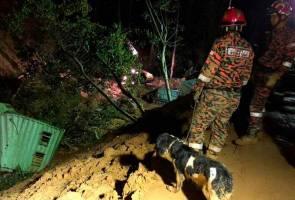 Tanah runtuh Bukit Kukus: Operasi SAR dihentikan berikutan berlaku pergerakan tanah