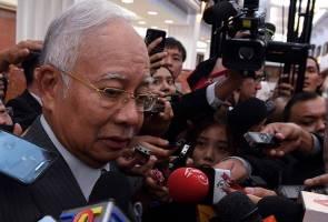 Najib persoal mengapa akaun UMNO masih dibekukan