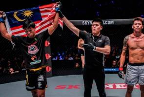 MMA: Atlet negara Keanu Subba tewaskan 'fighter' Myanmar di Yangon