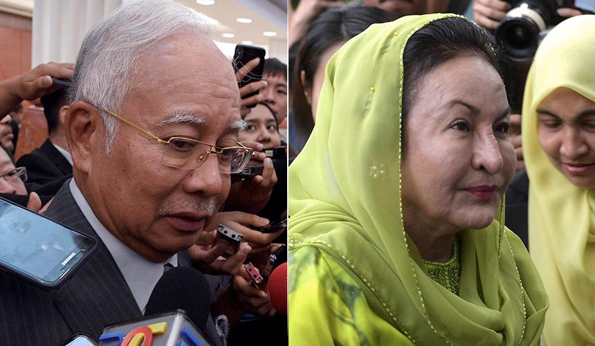 [LAPOR LANGSUNG] 1MDB: Najib di PDRM, Rosmah pula ke SPRM