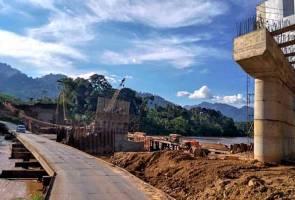 Jambatan Kampung Pulau Setelu dibuka kepada semua kenderaan