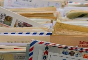 Zaman berutus surat tinggal nostalgia