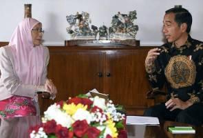 TPM Wan Azizah kunjungi Presiden Jokowi