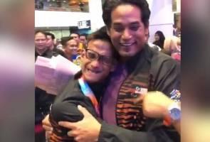 Hubungan Khairy dengan atlet paralimpik masih rapat