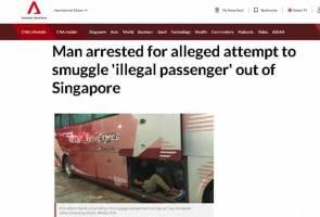 Sembunyi lelaki dalam tempat bagasi, pemandu bas Malaysia ditahan ICA