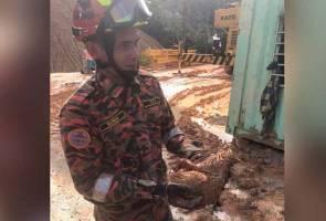 Tragedi Bukit Kukus: Pasukan SAR turut selamatkan kucing yang tertimbus