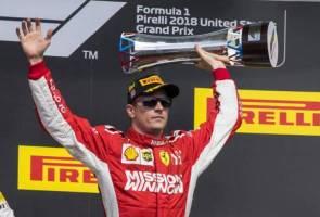 Raikkonen tangguh pesta kejuaraan Hamilton di Austin