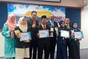 Pengacara AWANIJr dinobat tokoh Nilam Terengganu