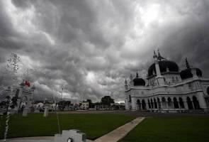 Ini amaran ribut petir di tujuh negeri di Pantai Barat