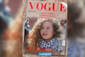 Ahed Tamimi hiasi muka depan Vogue Arabia