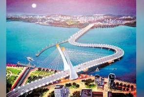 Jambatan bengkok tidak perlu kelulusan Singapura - Tun M