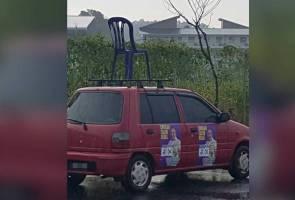 'Kancil' bawa kerusi bantu kempen Isa Samad