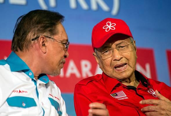 Dr Mahathir harap PH diberi kemenangan di PD