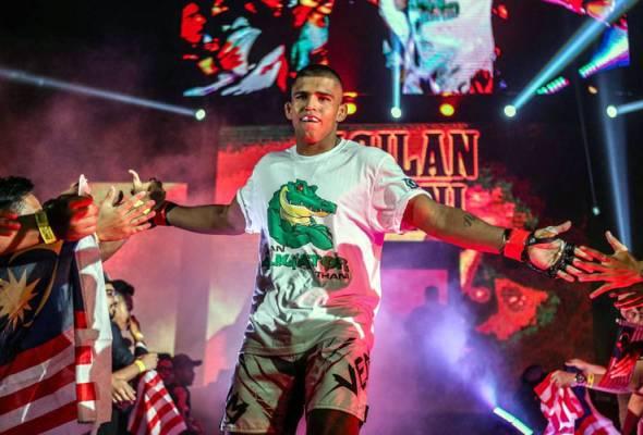 MMA: Agilan bakal beraksi dalam acara ONE di Tokyo Oktober ini