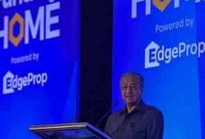 Sistem baharu mampu selesaikan lambakan rumah tidak terjual - Tun Mahathir