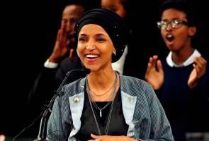 Rashida Tlaib, Ilhan Omar wanita Islam pertama menang kerusi Kongres