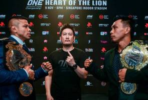 MMA: Bibiano Fernandes, Kevin Belingon face off ahead of ONE Singapore bout