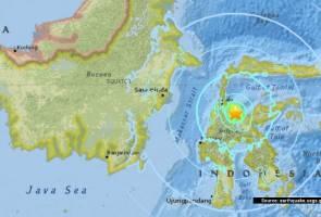 Gempa bumi 5.5 skala richter landa Sulawesi