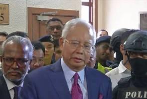 Najib ditahan SPRM