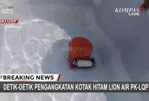 Kotak hitam pesawat Lion Air JT610 dijumpai