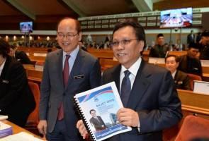 Mohd Shafie bentang belanjawan  lebihan RM4.16 bilion