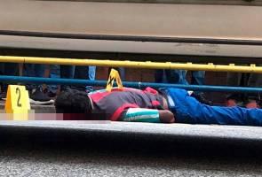 Lelaki serang polis dekat Komtar mati ditembak